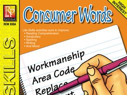 Consumer Words: Life-Skill Lessons