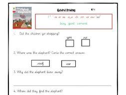 Oxford Reading Tree - Level 4 Comprehension Worksheets