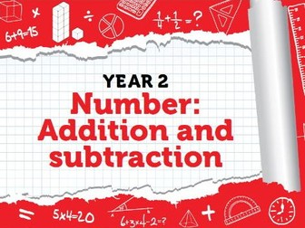 Year 2 - Addition and Subtraction - Week 4