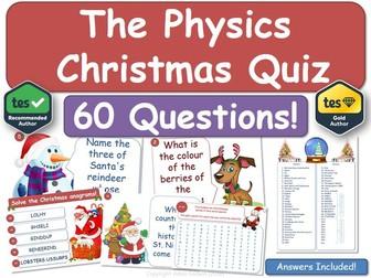 Physics Christmas Quiz!