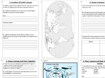 KS3 Oceans booklet