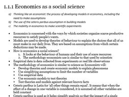 A-level Economics FULL Revision Notes Package