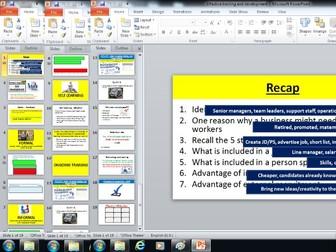 Edexcel GCSE Business (9-1) Theme 2 - 2.5.3 Effective training and development