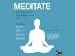 Start a Meditation Group / Teach Meditation / Mindfulness (Resource Pack) [SMSC] [Extra-Curricular]
