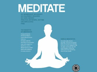 Start a Meditation Group / Teach Meditation / Mindfulness (Resource Pack) [SMSC] [Extra-Curricular]