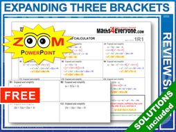 GCSE Revision (Triple Brackets)