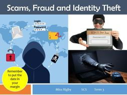 Social and Community Studies - Science and Technology (eSafety) unit - Types of Identity theft
