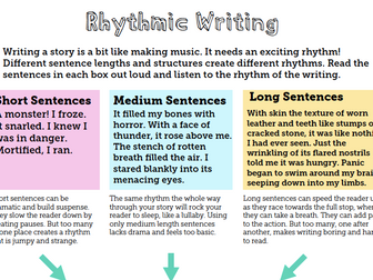Rhythmic Writing - A Simple, Stylish Trick