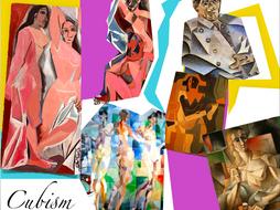 Cubism ~ Art History ~ Art ~ Fragment ~ Geometry ~ 165 Slides