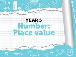 Year 5 - Place Value - Week 3 - Numbers to 1,000,000, Rounding within 1,000,000, Negative Numbers