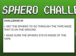 Sphero SPRK: 10 Scaffolding Challenges