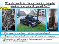 Suffering + Evil