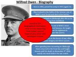 futility poem by wilfred owen analysis