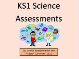 KS1 Science Assessments and Tracking