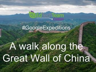 The Great Wall of China - #GoogleExpedition