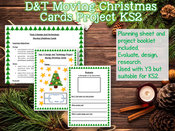 LKS2 Moving Christmas Card D&T Project