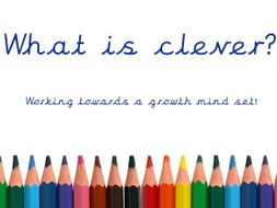 Growth Mindset Assembly - What is clever? + The brain