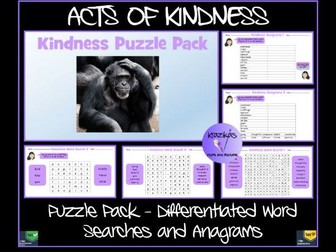 Kindness: Puzzle Pack