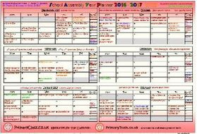 2016 2017 school assembly year planner updated jan 17 by