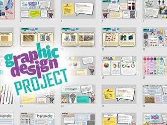 Global Goals - Graphic Design Leaflet Project