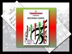 "Playalong Christmas Recorders ""ROCKING CAROL"""