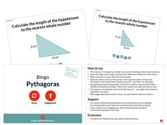 Pythagoras (Bingo)