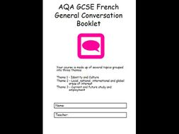 AQA GCSE French General Conversation Booklet