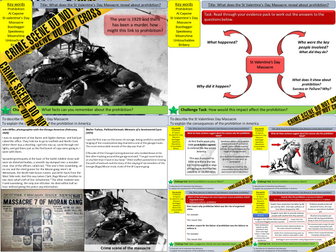 USA: What does the St Valentine's Day Massacre reveal about the impact of prohibition? (L11)