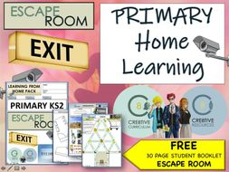 Covid-19 - Home Learning Pack - KS2 Primary Students