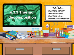 6.3.3 Thermal decomposition (AQA KS3 Activate 2)
