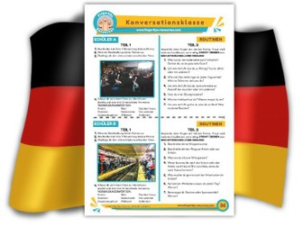 Routinen - German Speaking Activity