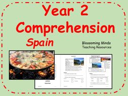 Year 2 comprehension - Spain