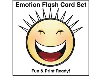 ESL Emotions Flash Cards