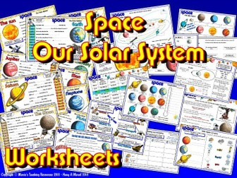 Our Solar System / Planets Worksheets