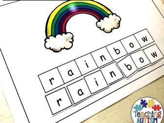 Weather Spelling Activity