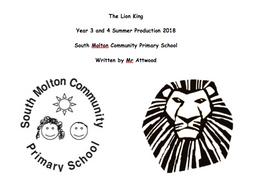 The Lion King Script - Primary School