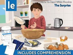 Reading Comprehension 'The Surprise' (4-8 years)