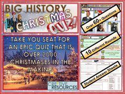 History Christmas Quiz - Christmas 2018