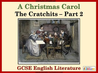 A Christmas Carol (GCSE) The Cratchits Part 2