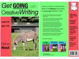 Out & About: Get Going With Creative Writing (and other forms of writing) (ages 7-11 years)