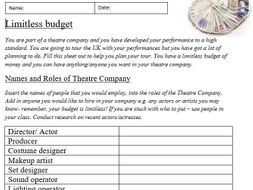 Limitless Budget social distance/ isolation/ home learning resource
