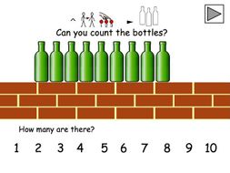 Maths - Number Song - Ten Green Bottles