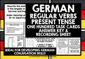 GERMAN-REGULAR-VERBS-PRESENT-TENSE-TASK-CARDS.zip