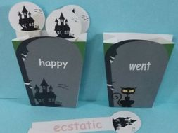 Synonym Cemetery - Display, Activity, Lesson,Intervention. Interactive Working Wall