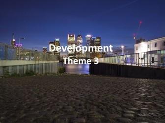 IGCSE Economic Development - Development