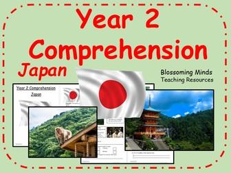 KS1 Comprehension - Non-fiction - Japan