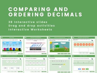 Ordering and Comparing Decimals - Year 5-6