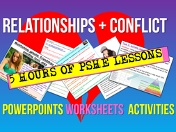Relationships + Conflict