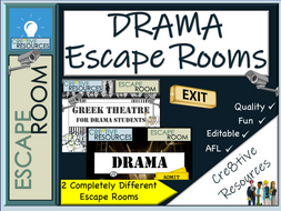 Drama Escape Rooms