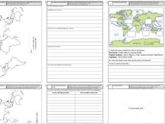 KS3 Plate tectonics and hazards booklet